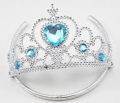 Tiara - Kroon blauw