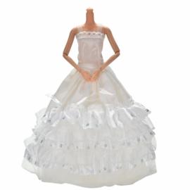 Barbie jurkje Wedding