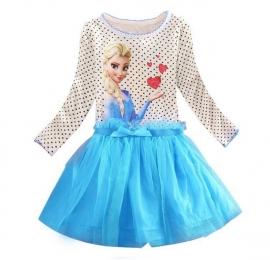 Frozen Elsa tutu frozen blauw mt 116-140