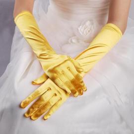 Belle Artikel Combi:  Jurk + Handschoenen