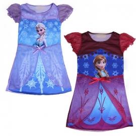 Frozen jurkje Anna pink mt 116/128