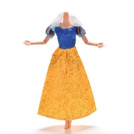 Barbie jurkje  Sneeuwwitje