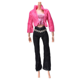 Barbie 3 dlg set  Pinks