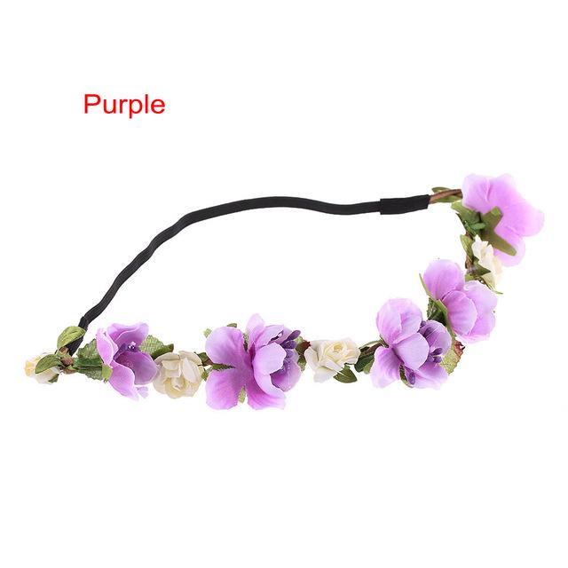 Flower Haarband  - in 7 kleuren