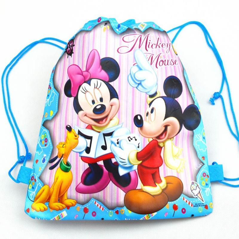 Minnie & Mickey - Gym/Zwem/Kado  Rugtasje