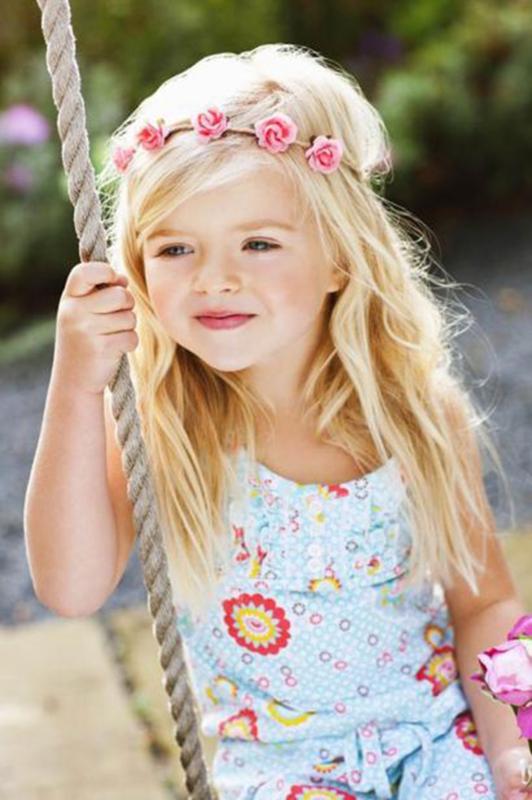 Bloem Haarband Flower - Makkelijk Elastisch  ( 5 kleuren)