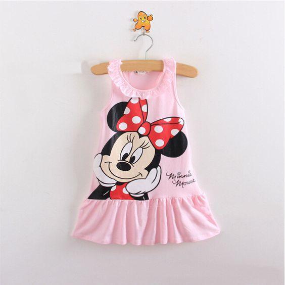 Minnie Mouse jurkje Rose (mt 80)