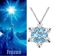 Frozen ketting ijsster - blauw