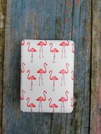 Spiegeltje Flamingo rose