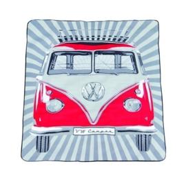 VW picnic deken rood