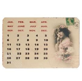 Magneetkalender klein
