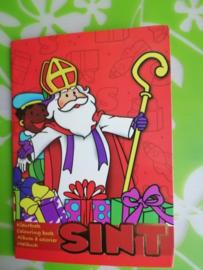 Sinterklaas en Piet miniboekje