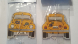 VW Beetle Coconut/Yellow