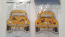 VW Beetle Coconut/Yellow