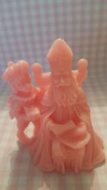 Sinterklaas met zijn Piet