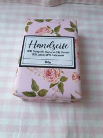Mooi verpakte zeep rozen