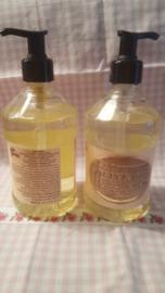 Retro Vintage Olive Oil vloeibare zeep