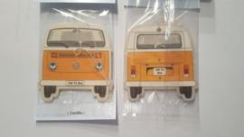 VW T2 Bus Vanilla/Orange