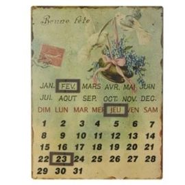 Magneetkalender duiven