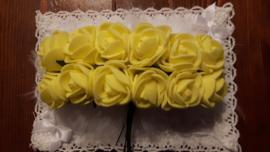 Foam roosjes 2 cm