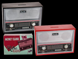 Retro Radio Money Bank