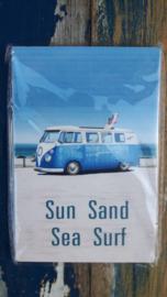 Sun, Sand, Sea, Surf