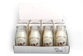 Milk Bottle Candle 12 cm