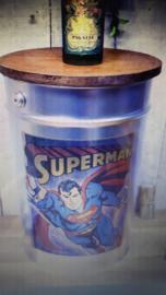 Retro Metal Stool Superman