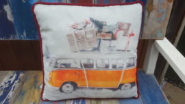 Christmas Car Cushion  Orange