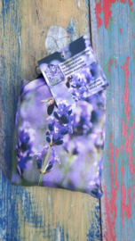Opvouwbare tas lavendel en bij
