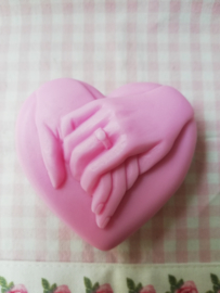 Handen op hart