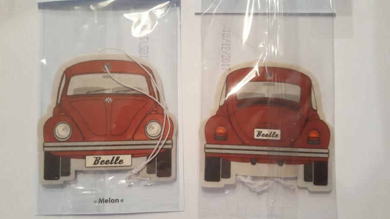 VW Beetle Melon/Red