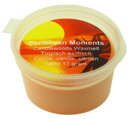 Wax Melt Caribean Moments. Cosos, vanille en citroen.