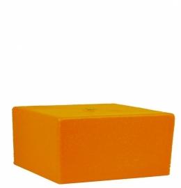 Bigfoot® kaars 0.8 kg oranje