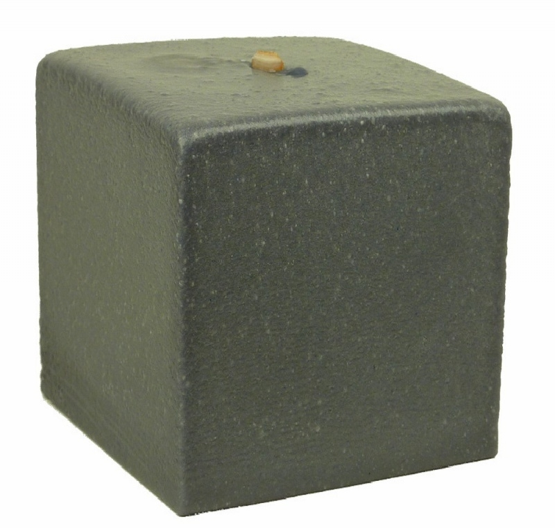 Bigfoot® kaars 1.6 kg marmer grijs