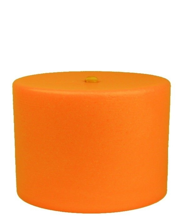Bigfoot® kaars 1.0 kg oranje