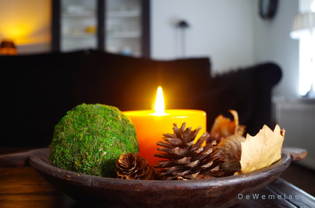 knisperende kaarsen