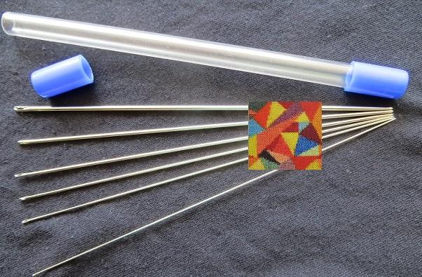 6 st frivolité naalden - 6 pc tatting needles