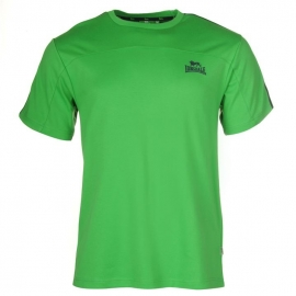 "Lonsdale Tee ""2 stripe short sleeve GREEN"""