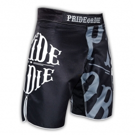 POD Fightshort Reckless Black & White