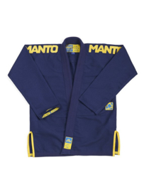 "MANTO ""X3"" BJJ GI NAVY BLUE"