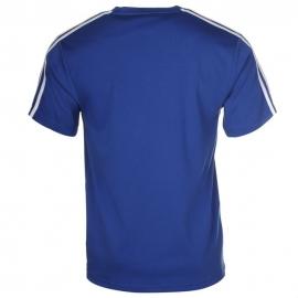"Lonsdale Tee ""2 stripe short sleeve BLUE"""