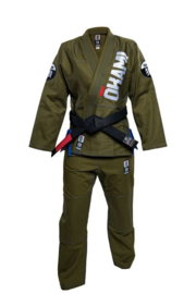 okami Ladies Competition Training Gi #2 olive