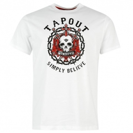 "Tapout Tee ""simply believe"""