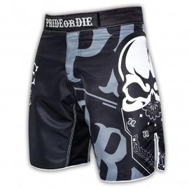 POD Fightshort Reckless Black & White