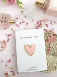 Pin | Jij hebt een hartje van goud!