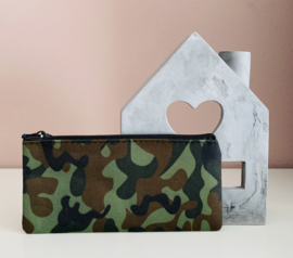 Etui | Camouflage-Donkergroen