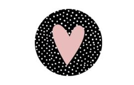 Kadosticker  Pink Heart Dots