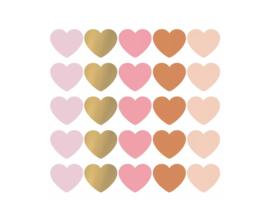 Kadosticker   SOW & GROW Hearts multicolor