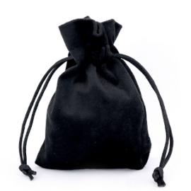 Sieradenzakje Velvet | Black